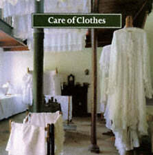 Care of Clothes BOOK Shelley Tobin, Jane Ashelford Soap National Trust Pressing