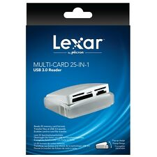 Lexar Multi-Card 25-in-1 USB 3.0 SuperSpeed (500MB/s) Memory Card Reader