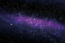 Galaxy Photo Wallpaper Space Mural Starry Sky Wall Decoration Nursery