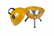 Mini Barbecue sphérique Barbecue Grill Charbon de bois Edelrost ORANGE Barbecue