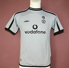2001 - 2002 MANCHESTER UNITED GOALKEEPER JERSEY BY UMBRO, YOUTH LARGE, 158