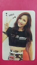 TWICE MINA Official Photocard Red (Adult) Ver. 1st Album The Story Begins