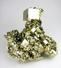 PYRITE CUBIC CRYSTALS from PERU......ALL AROUND CRISTALLYZED....SCULPTURE PIECE