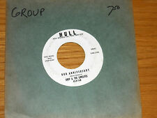 "DOO-WOP GROUP 45 RPM - SHEP & THE LIMELITES - HULL 748 - ""OUR ANNIVERSARY"""