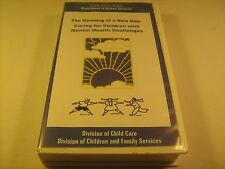 Rare VHS Tape DAWNING OF A NEW DAY Children w/ Mental Health Challenges [Y121c]