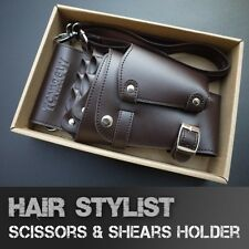 Hair Stylist Shears Pouch Salon Wallet Scissors Tool Belt Holder Men's Holster