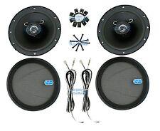 """DNF 1 Pair 2 Way 6-1/2"""" (6.5"""") Slim Speakers 240 Watts Maximum Power- SHIPS FREE"""