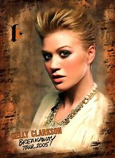 KELLY CLARKSON 2005 BREAKAWAY TOUR PROGRAM BOOK / NEAR MINT 2 MINT