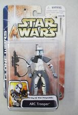MOC 2003 STAR WARS CLONE WARS ARMY OF THE REPUBLIC ARC TROOPER ACTION FIGURE #43