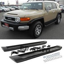 For Toyota FJ Cruiser 07-14 Running Board Side Step Nerf Bar Heavy Duty Black
