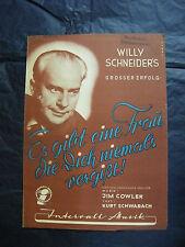 Partition Es gibt eine frau die dich niemals vergisst Schneider's Music Sheet