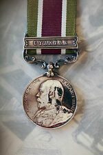 BRITISH ARMY INDIAN TROOPS TIBET MEDAL GYANTSE CLASP BAR EDWARD VII 1903 4