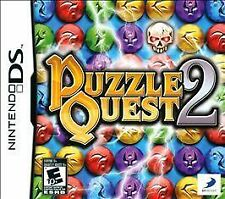 Puzzle Quest 2 COMPLETE Nintendo DS DSI XL LITE 3 3DS 2 2DS **FREE SHIPPING!!