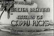 Affairs of Cappy Ricks (1937) Walter Brennan, Mary Brian Comedy Drama  DVD