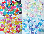 Decorative butterflies.Choices of mixed colour packs 50 or 100. Weddings Crafts