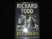 Richard Todd. In Camera. An Autobiography Continued. (Hardcover) 1st edition