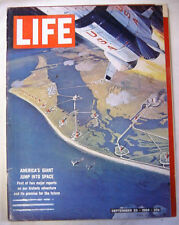 1964 September 25 LIFE Magazine - AMERICAN SPACE RACE - Computers - Satellites