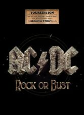 AC/DC - ROCK OR BUST  CD + T-SHIRT NEW+
