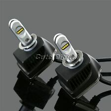 2x H3 80W 16000LM Car Truck LED Headlights Headlamp PHILIPS LED Chips Bulb 6000K