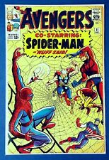 Avengers 11 ▪ Huge Silver Age Key ▪ Spiderman Crossover ▪ Solid Copy ☆