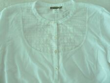 NWT JCrew Vintage Floral Lace Embroidered Long Sleeve Blouse Shirt Top XS