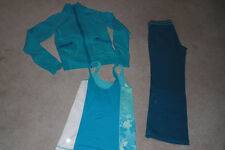 Lot of Lululemon Jacket, Track Pants and Tank Top sz 6