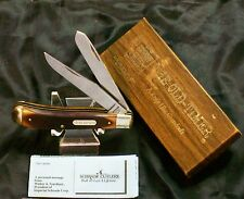 "Schrade 94OT Old Timer Knife ""Delrin Trapper"" NOS W/Orig. Packaging & Paperwork"