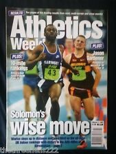 ATHLETICS WEEKLY - SOLOMON WARLSO - FEB 11 1998