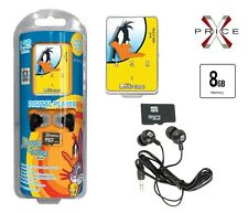 Lettore MP3 8GB XTREME  DUFFY DUCK MINI USB SLOT MICRO AURICOLARI JACK 3,5