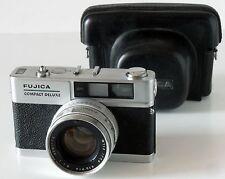 Fujica Compact Delux télémétrique Objectif Fujinon 1,8/4,5cm
