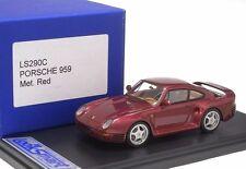 Porsche 959 MET. RED LookSmart Model 1/43 #LS290C