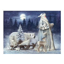 Weihnachten Schnee Diamond Stickerei 5D Diamant DIY Malerei Cross Stitch Dekor