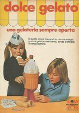 X9921 Dolce Gelato - HARBERT  - Pubblicità 1976 - Advertising