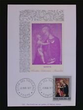 VATICAN MK 1971 MADONNA & CHRISTUS GEMÄLDE MAXIMUMKARTE MAXIMUM CARD MC CM c6265