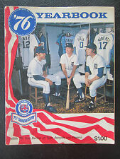 1976 Detroit Tigers Yearbook 75th Anniversary baseball