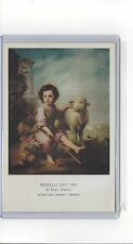 Iberia Airlines issued art work by Murillo at the Prado museum cont/l postcard