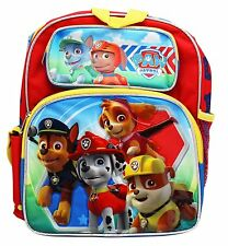 "Paw Patrol Small Backpack - 12"" inches BRAND NEW Licensed Product - Friends"