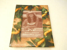"Island Heritage Beach Tropical Hawaiian Lei Themed Photo Picture Frame 4"" X 6"""