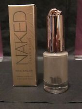 URBAN DECAY NAKED LTD ED NAIL POLISH ~MAGNET~SMOKY GRAY CREAM~SOLD OUT SHADE!!