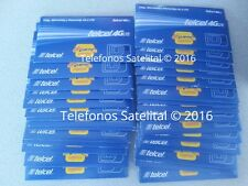 Wholesale Lot of 10 Telcel SIM Cards Mexico USA Canada Ready for Activation Deal