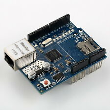 W5100 ETHERNET SHIELD , WITH MICRO SD SLOT , NEW VERSION !( ARDUINO COMPATIBLE )