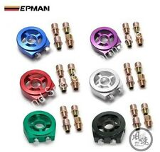 UNIVERSAL EPMAN OIL FILTER COOLER SANDWICH PLATE ADAPTER AVAILABLE IN 4 COLOURS