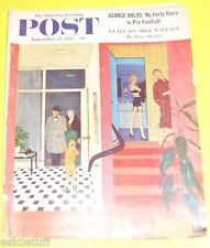 Post Magazine 11/23/1957 Unexpected Company cover Nice Picture! See!