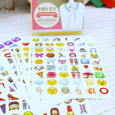 Lot 20Pcs Lively Facial Expression Deco Craft Art Planner Emoji Stickers Decor