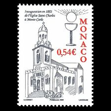 Monaco 2008 - The Saint Charles Church in Monaco Architecture - Sc 2475 MNH