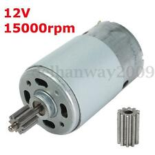 DC 12V 15000RPM Electric Gear Box Motor For Kids Ride On Car Bike Toy Spare Part