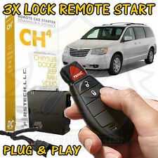2013 CHRYSLER TOWN & COUNTRY PLUG & PLAY REMOTE START ADD ON FT-CH4-DC COMPUSTAR