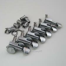 Schaller Concentric Style Lock Tuners Pegs Machine Heads for Fender 6R Chrome