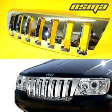 1999-2003 Jeep Grand Cherokee WJ Vertical Sport Chrome Front Upper Hood Grille