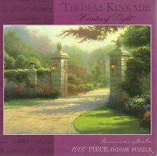 SUMMER GATE BY THOMAS KINKADE (Complete) PUZZLE